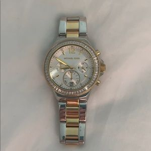 Michael Kors mixed metal watch